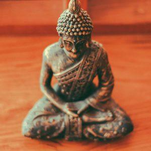 Achtsamkeitsübungen mit Buddha