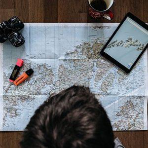 Selbstfindung Reisen