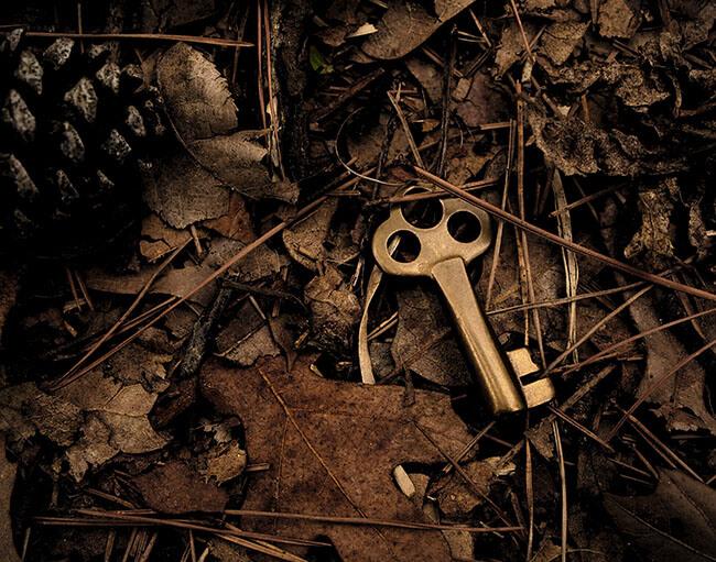 Glücklich sein Schlüssel