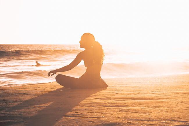 Zur Ruhe kommen durch Meditation